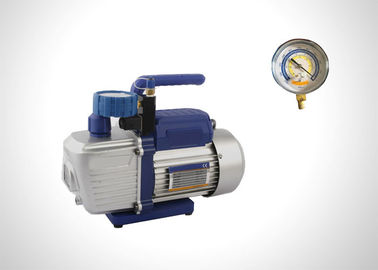 2 Stage Refrigeration Rotary Vane Vacuum Pump With Solenoid Valve 1.5-12 CFM