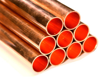 0.28-5mm Wall Thick Copper Water Tube , Gas Copper Tubing C1220 SF-Cu C12000